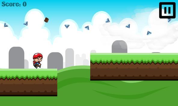 Angry Kid Jungle Line Runner apk screenshot