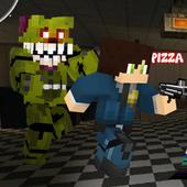Block Pizza Five Nights icon