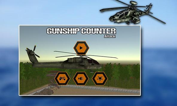 Gunship Helicopter 3D Battle poster