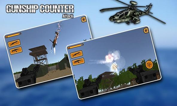 Gunship Helicopter 3D Battle screenshot 8