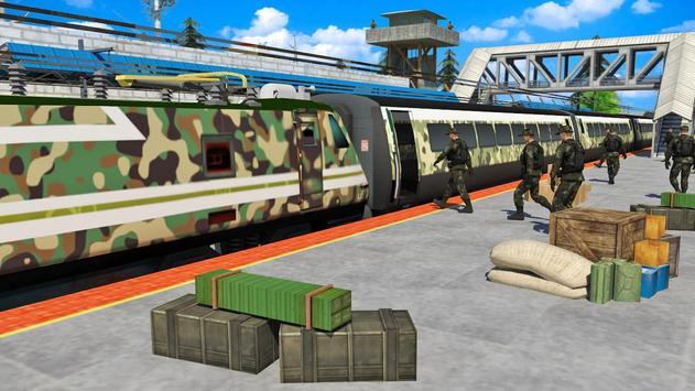 US Army Train Simulator 3D poster