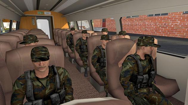 US Army Train Simulator 3D screenshot 1