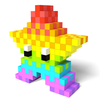 Color by Number 3D - Voxel Pixel Art Coloring Book أيقونة