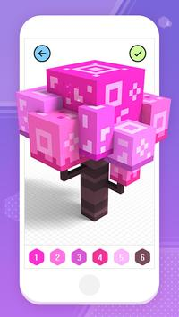 Color by Number 3D - Voxel Pixel Art Coloring Book скриншот 9