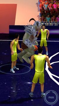 Basketball 3D Fanatics Games apk screenshot