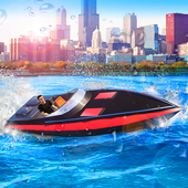 Boat Driving Games Parking Simulator icon