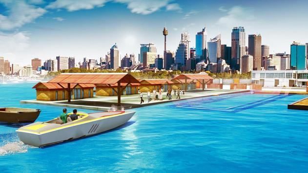 Boat Driving Games Parking Simulator poster