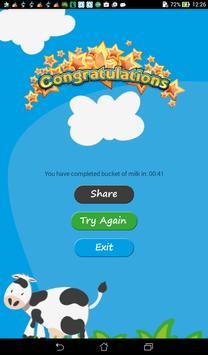 Cow Milk Game apk screenshot