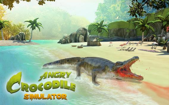 Crocodile Attack - Animal Simulator poster