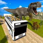 Dinosaur Park: Tour Bus Driving icon