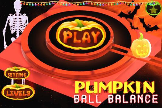 Pumpkin Ball Balance poster