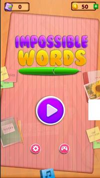 Impossible Words apk screenshot