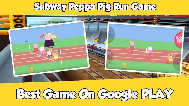 ... Subway Peppa Run Pig Game apk screenshot ...