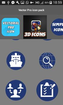 Vector Pro Icon Pack apk screenshot