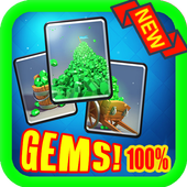 Free Gems for Clash Royale icon