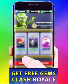 Free Gems for Clash Royale apk screenshot