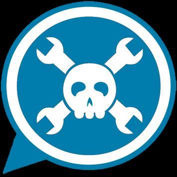 Hack Whatsapp Messenger prank poster