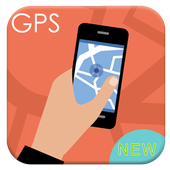 GPS Navigation Map Free Guide icon