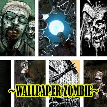 Wallpaper Zombie Keren screenshot 1