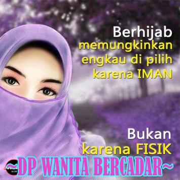 Dp Gambar Wanita Bercadar poster
