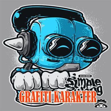Gambar Grafiti Karakter poster