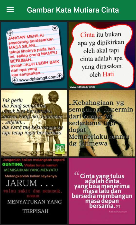 Dp Gambar Kata Mutiara Cinta For Android Apk Download