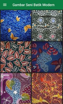 Gambar Seni Batik Modern screenshot 1