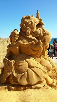 Sand Castle Art HD Wallpapers poster