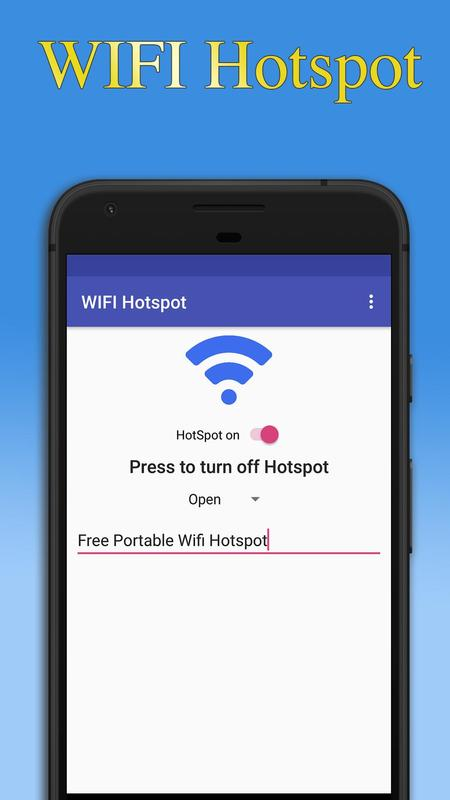 Portable WIFI Hotspot for Android - APK Download