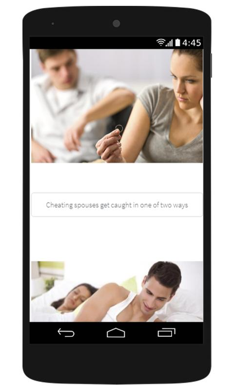 how do i catch my spouse cheating
