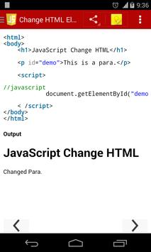 JavaScript Programs & Output apk screenshot