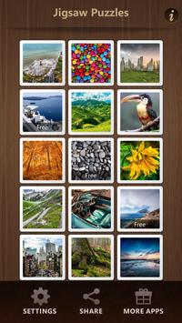Free Jigsaw Puzzles poster