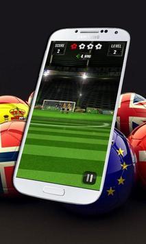 Free Kick Shoot Euro 2016 apk screenshot