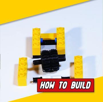 HowToBuild LEGO Fidget Cube poster