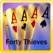 Forty Thieves Card Game icon