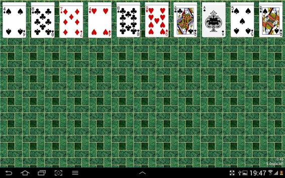 Spider Solitaire Free Game screenshot 2