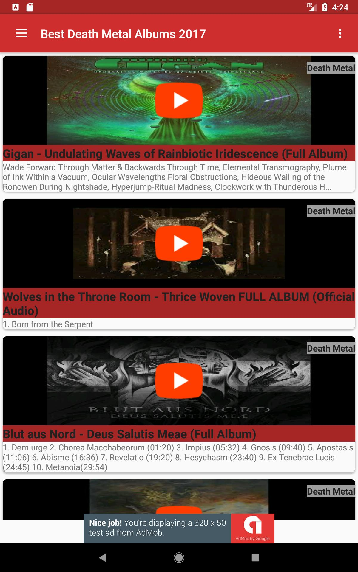 Top Death Metal Albums 2017 for Android - APK Download