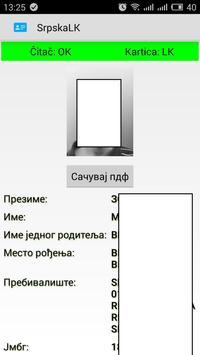 Čitač srpske lične - OMNIKEY apk screenshot