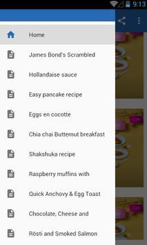Tasty Breakfast Recipes poster