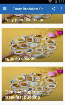 Tasty Breakfast Recipes screenshot 4