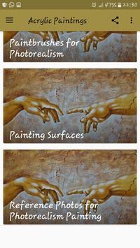 Acrylic Paintings screenshot 3