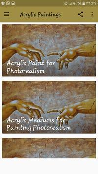 Acrylic Paintings screenshot 6