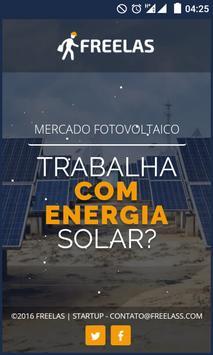 Freelas - Mercado Fotovoltaico poster