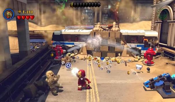 Guide LEGO Marvel Super HEROes screenshot 1