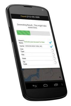 ... Reverse Phone Lookup Search apk screenshot ...