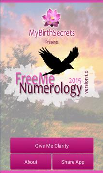 Free Me Numerology poster