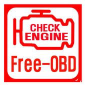 FreeOBD (KOBD,OBD2,게이지) icon