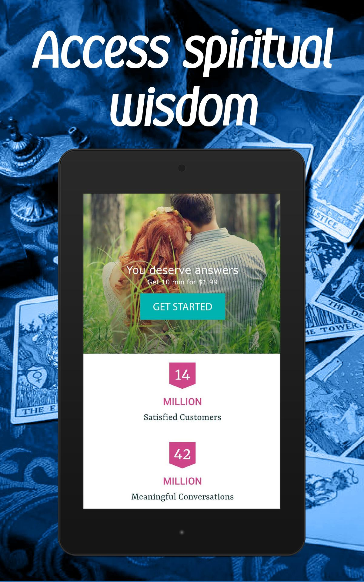 Free Online Tarot Reading - Free Psychic Question for Android - APK