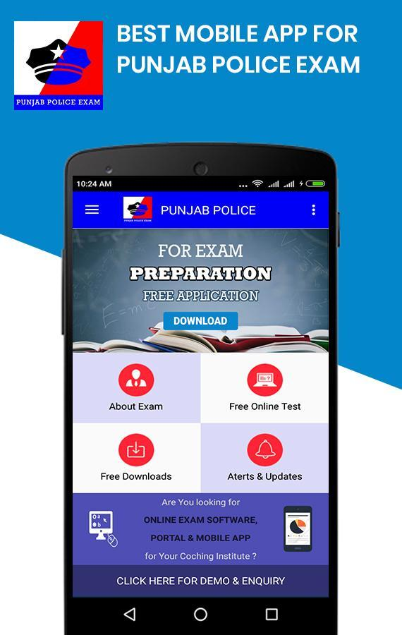 Punjab Police Exam App- Free Online Mock Tests for Android - APK