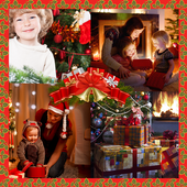 Christmas Eve Collage icon